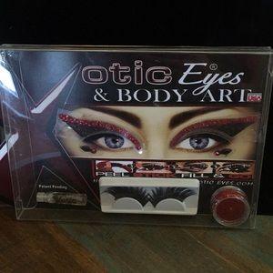 Xotic Eyes and Body Art Vixen Kit